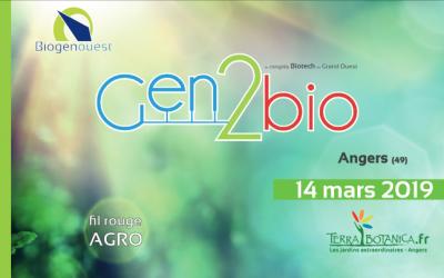 Congrès Gen2Bio autour du thème de l'Agronomie.